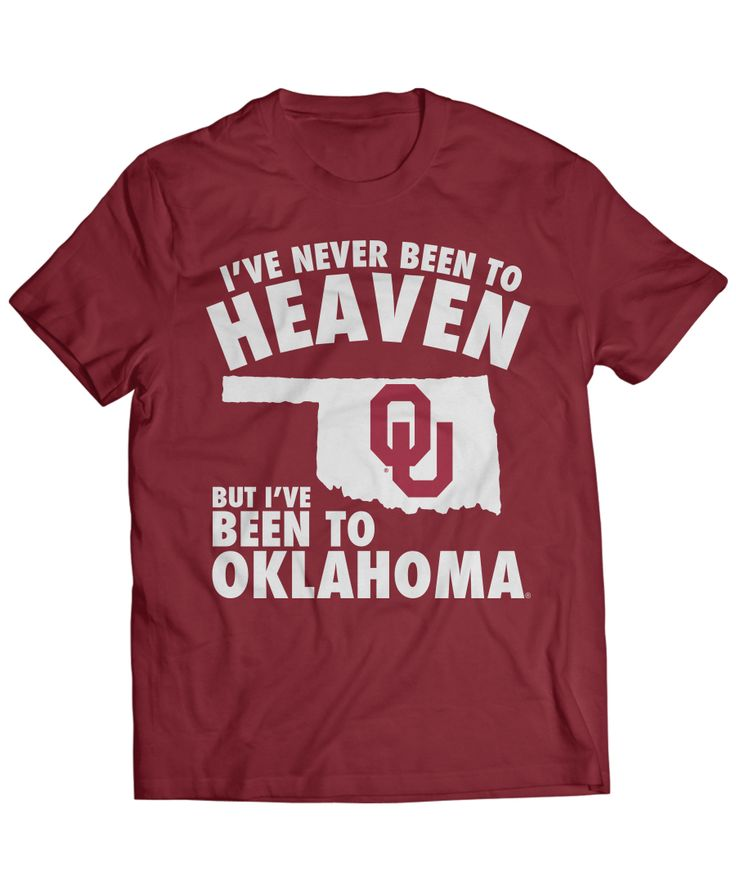 Oklahoma Sooners Official Apparel - this licensed gear is the perfect clothing for fans. Makes a fun gift!
