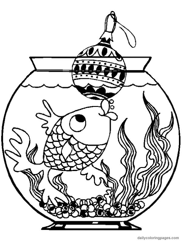 Christmas Animal Coloring Pages 11