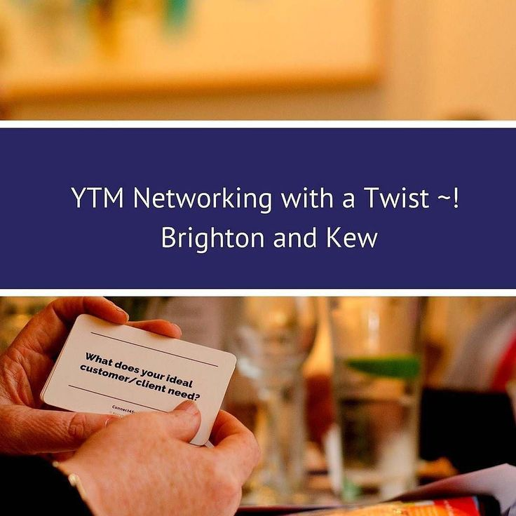 Does the idea of networking with other business owners scare you a little? As an #ambivert who is often mistaken to be an #extrovert I feel a bit overwhelmed when I walk into a room full of people I don't know. That's why I call @yourtimematters events on if my networking 'happy places'. Kerryn's warm and friendly approach and the structured conversation starters put me at ease and help me meet lots of other interesting business owners. Please join Kerryn and I on 29th August in Brighton…