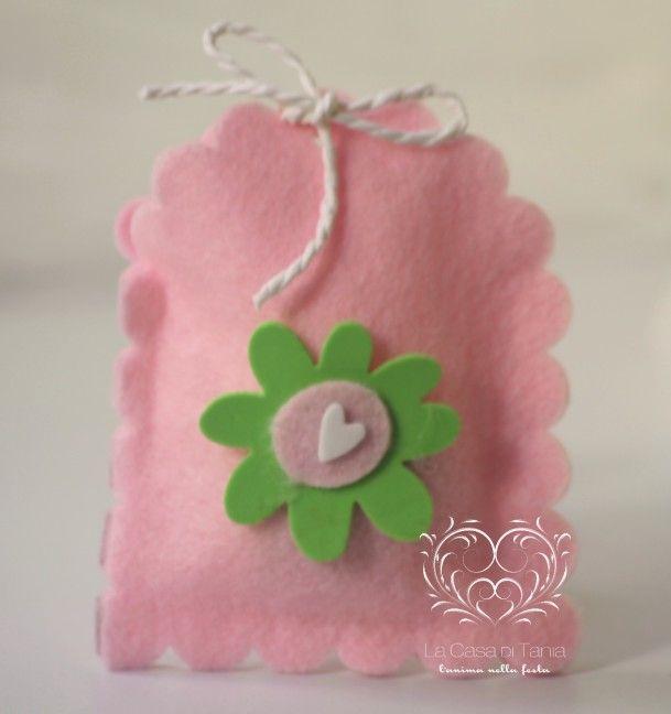 sacchetto feltro Idee per i piccoli e grandi bimbi