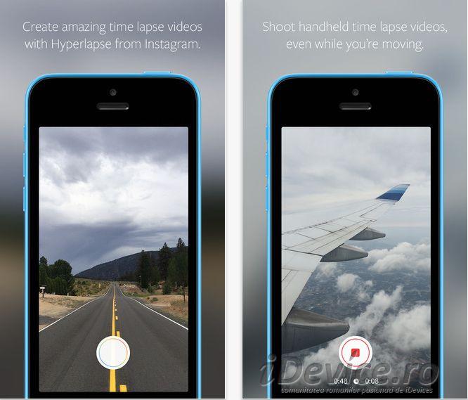 Hyperlapse – Instagram lanseaza o aplicatie pentru inregistrarea de clipuri video (Video)