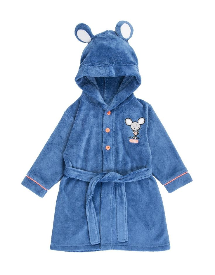 Milo Mouse Fleece Gown