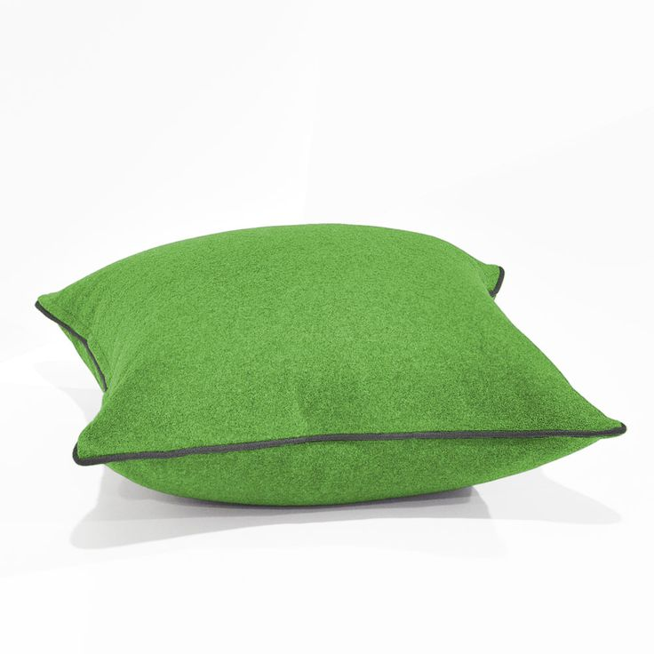 Augustus Lime/Armour Floor Cushion 60x60cm