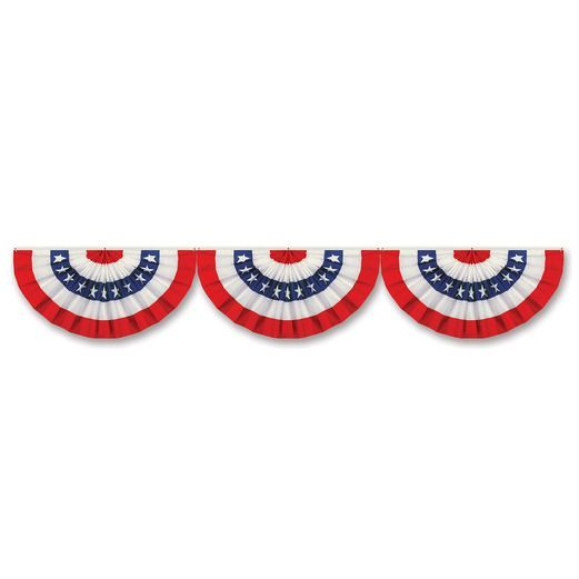 4th of July Decorations Patriotic Bunting Cutout Image