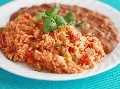 Mexican Rice: Fun Recipes, Mexicans Rice Recipes, Side Dishes, Yummy Mexicans, Mexicans Food, Mexi Rice, Mexican Fiestas, Favorite Recipes, Mexicans Recipes