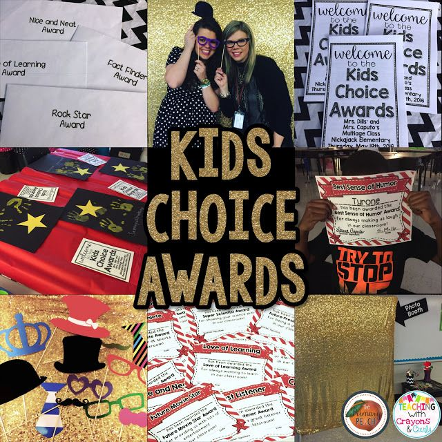 The Primary Peach: Finish the End of the Year with a Bang: Kids Choice Awards