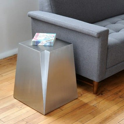Glacier End Table by Gus Modern.