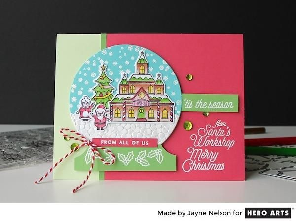 My Monthly Hero: Creativity in a Box October 2017 idea #2 by Jayne Nelson. Kit and add-ons available for purchase Monday, October 2. #mymonthlyhero