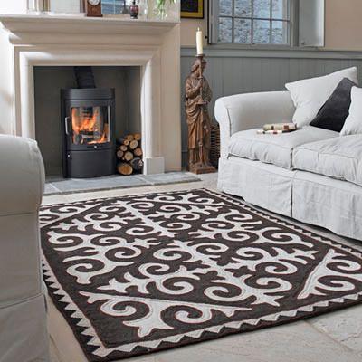 Handmade felt rugs called Shyrdaks from Kyrgyzstan