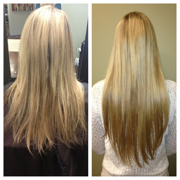 20 inch extensions for Kiley Jean! 812 weeks of wear