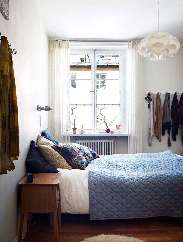 ... Sovrum on Pinterest  Grey walls, Scandinavian bedroom and Inspiration