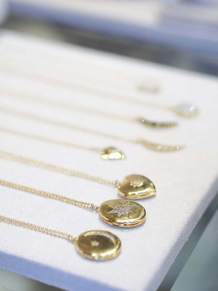 Shine   #lockets #necklace #gold #pretty #gems #style #Yaletown #handmade #love