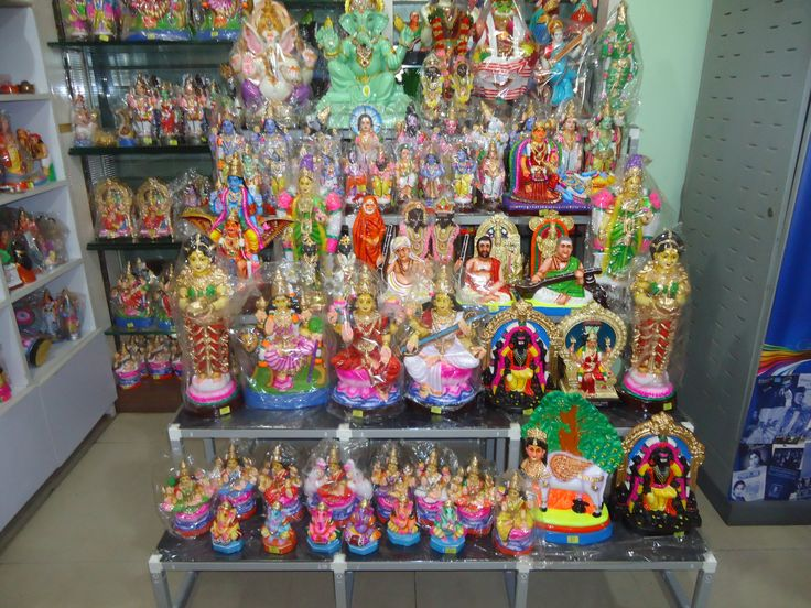 NAVARATRI 2014 GOLU PADI DISPLAY @ CHEMBUR SHOWROOM
