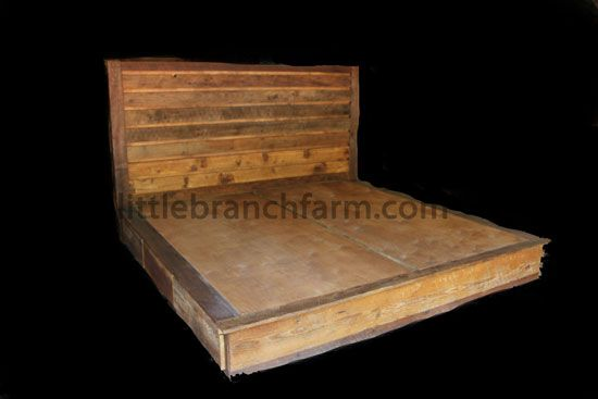 20 best ideas about rustic beds on pinterest log homes for Recycled wood bed