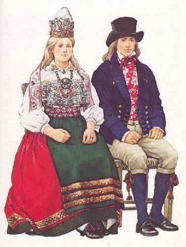 Estonian folk costumes - Estonia; http://ift.tt/2if3Qn1