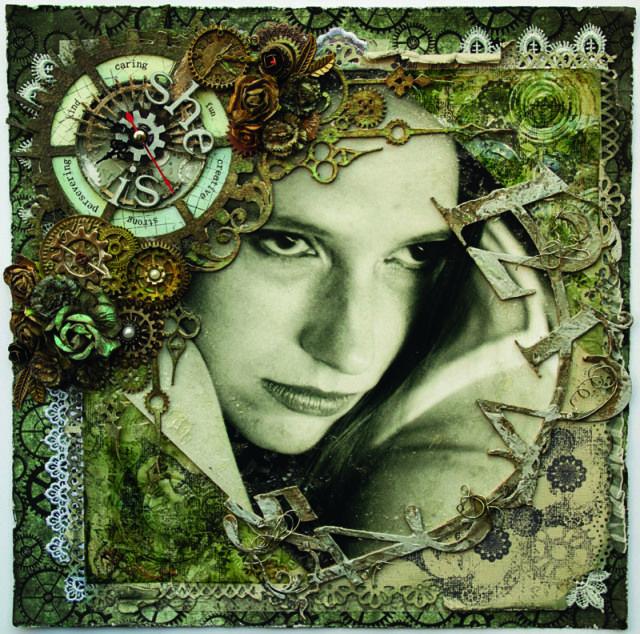 'She Is' by Anguree Jansen van Rensburg | Scrapbook Creations