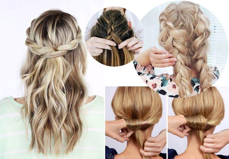 Hårguide og frisyrer: Langt hår, kort hår, bryllup, fletter