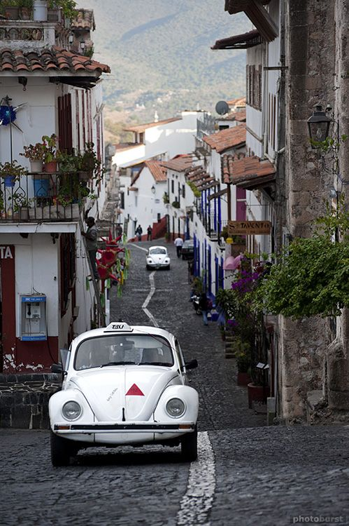 Taxco, Mexico. Charming town, home of silver.