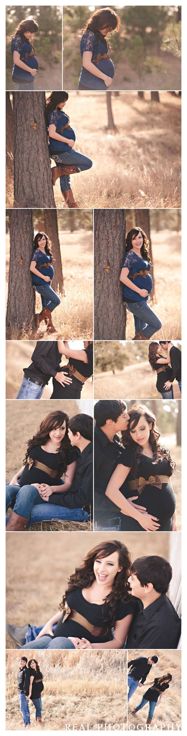 maternity portraits outside black forest colorado springs photographer
