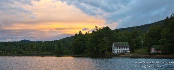 The Long Lake Sunset, An Adirondack Sunset Adventure In Weather #EatPlayLoveNY #Adirondacks #Sunset #Outdoors #Boating #NewYorkState
