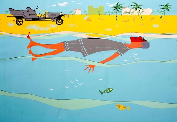 Palm Beach Charley Harper