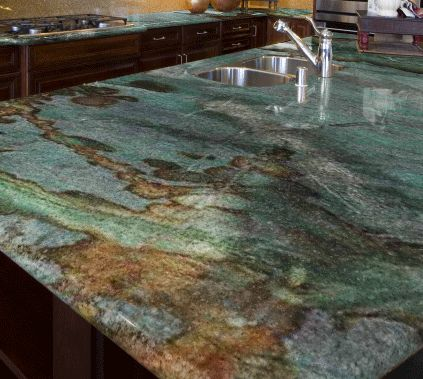 Brazilian Exotic Granite Push Local Biz Countertops