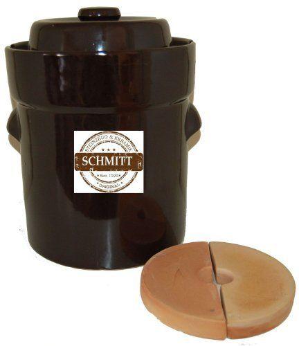 Schmitt 5L Gairtopf German Fermenting Crock Pot - ME3205, http://www.amazon.com/dp/B00BMHZL5Y/ref=cm_sw_r_pi_awdm_TcNXtb008ED9E