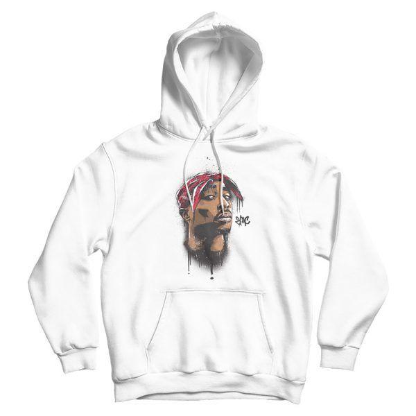 Tupac Makavelli Trust Nobody Hip Hop Novelty Black Men Women Unisex Hooded Sweatshirt Hoodie