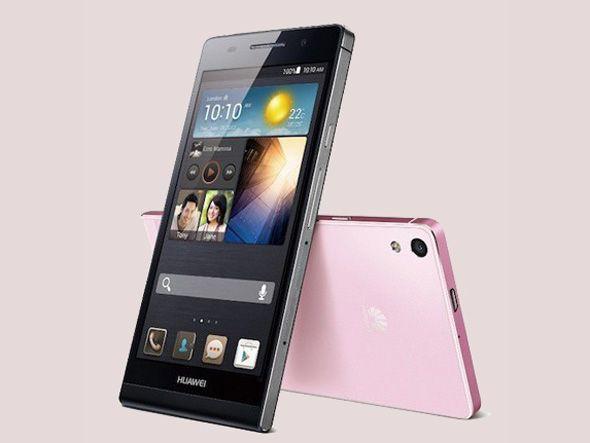 Huawei lança smartphone mais fino do mundo, o Ascend P6, com 6,18 milímetros de espessura