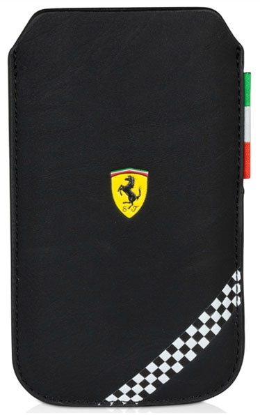 2013 Black Scuderia Ferrari F1 Large Phone Sleeve