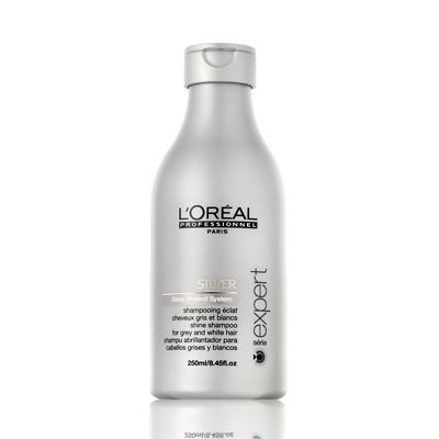 L'Oréal Professionnel Serie Expert Silver Shampoo for Grey or White Hair 250ml