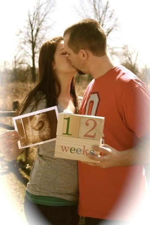 Pregnancy announcement .....someday