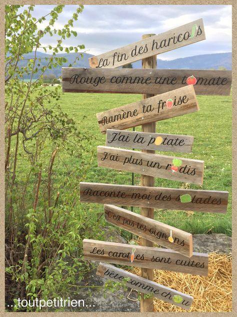 Dans mon jardin il y a.... de drôles d'idées :-)) www.toutpetitrien.ch - fleurysylvie