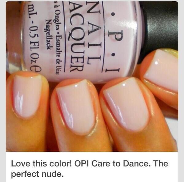 OPI care to dance. Love.