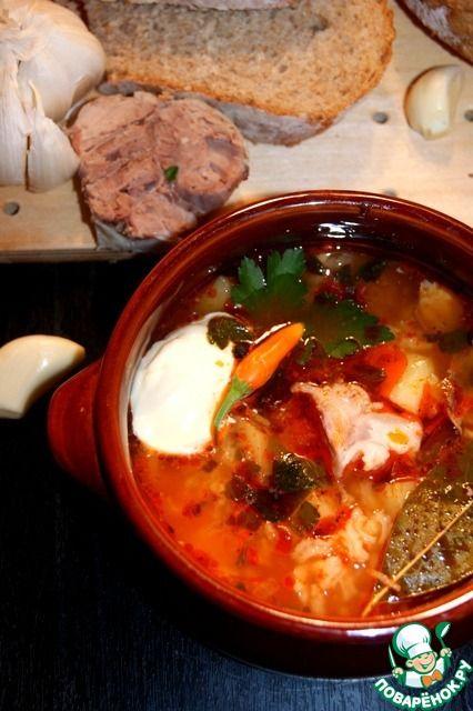 """Суп """"Чесночник"""" - кулинарный рецепт"""