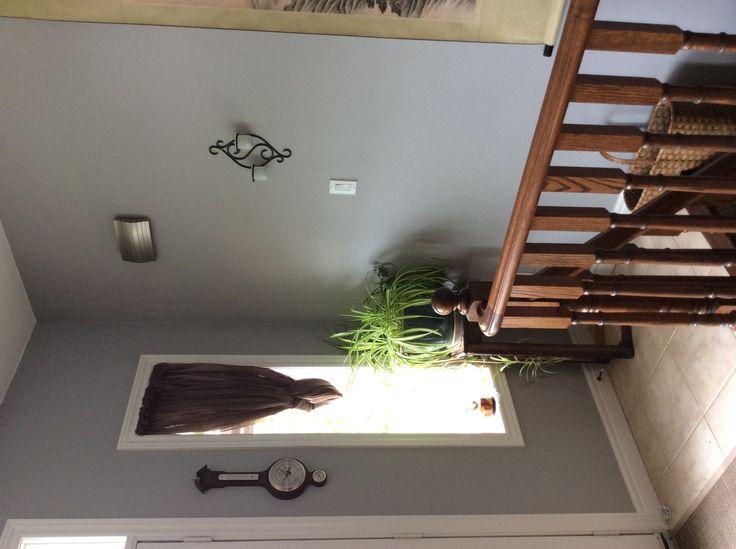 Foyer Paint Colors Behr : Foyer behr sonic silver paint colors pinterest