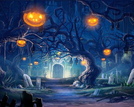 jack o latern forest - Fantasy Wallpaper ID 887608 - Desktop Nexus Abstract
