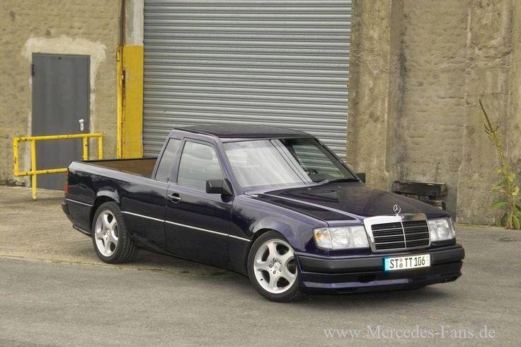 Merc W124 Pick-Up