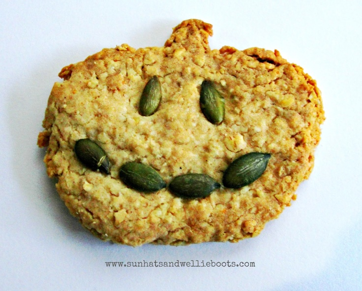 Pumpkin & Oat Cookies - Simple to make & a great source of energy