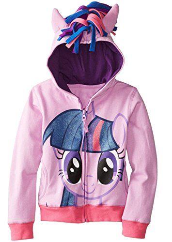 CherWow Children Girls Kids Little Pony Outfit Cosplay Hoodies Zip Jacket Purple 140cm/4Y-5Y @ niftywarehouse.com #NiftyWarehouse #Disney #DisneyMovies #Animated #Film #DisneyFilms #DisneyCartoons #Kids #Cartoons