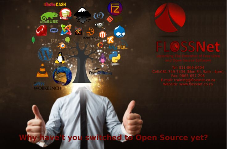 Why havnt you switched to open source  www.flossnet.co.za