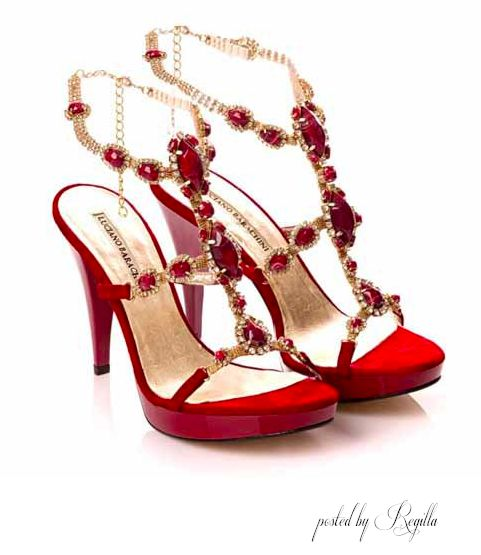 Sexy, red, heel, a jewel of a shoe!!!