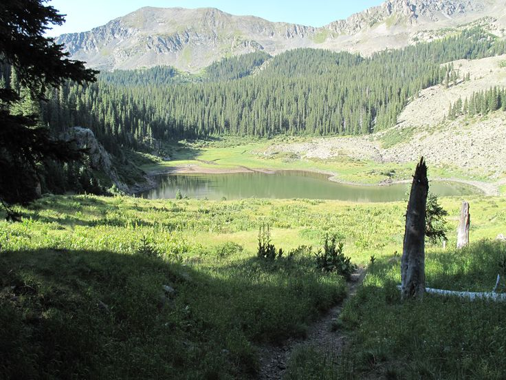 Williams Lake trail info, taos ski valley