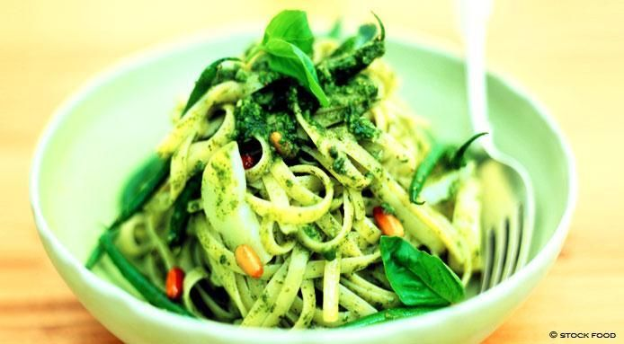 How To Make Pasta Recipes : Italian Pesto: Italian Pesto Pasta