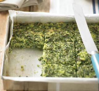 Silverbeet pie | Got silverbeet or spinach that needs to be used up? Try this tasty, high-protein and gluten-free silverbeet pie! It makes a change from a traditional winter pie and is also great chopped up into smaller pieces for an easy canapé.