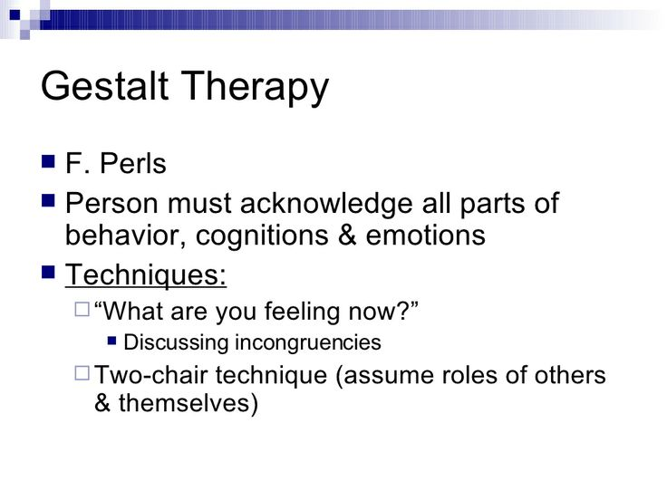 Basics of Gestalt Therapy | Pinned by Melissa K. Nicholson, LMSW http://www.adoptioncounselinggr.com