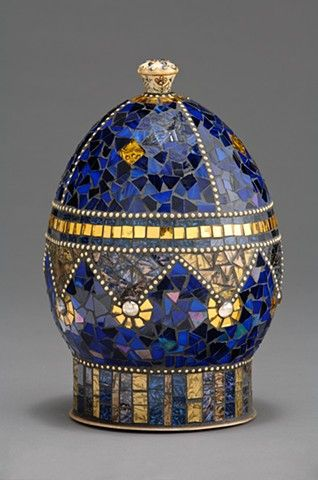 14 best romanov russian period images on pinterest for Egg mosaic design