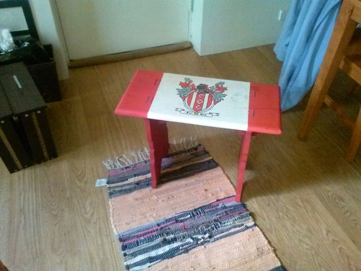 Painted Timber Bench for Alexander