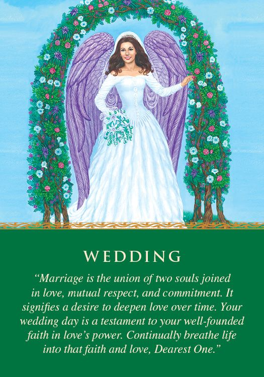 Oracle Card Wedding | Doreen Virtue | official Angel Therapy Web site