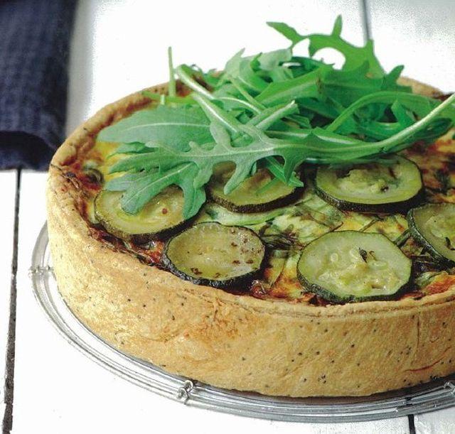 Ricetta Torta salata ai funghi champignon Ingredienti  1 confezione di pasta brisè 300 gr di funghi champignon; 200 gr di provola dolce 4 uo...